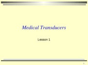 Lesson 1 2009 transducers with activities