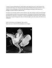 Week 3 Discussion 1. Marilyn Monroe.docx