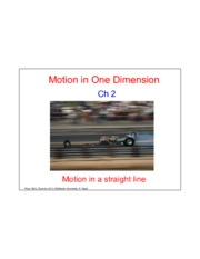Motion in One Dimension-Lecture-May7-Ave