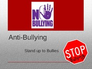 presentation on Anti-bullying