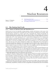 Nuclear Resources