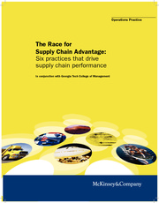 Reading for Apr10_A Race for Supply Chain Advantage_2008