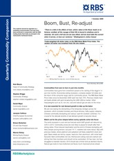 Commodities Primer - RBS (2009)