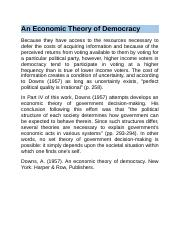An Economic Theory of Democracy.docx