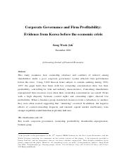 12_Corporate Governance and Firm Profitability evidence from korea before teh economic crisis (1).pd