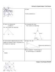 Solving for Angles Test Review-ANS
