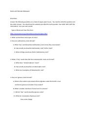 Rocks and Minerals Webquest (1)