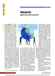WAM(S)! global view from its pioneers magazine