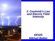 325_Sp2011_2_Coulolb's_Law_and_Electric_Feild