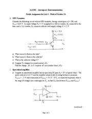 AA 320 Pre-Lab Assignment #4-3