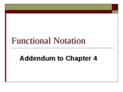 FunctionalNotation(S)