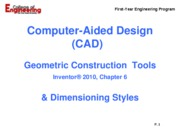 Inventor - Geometric Const  Tools - Ch 6_rev07_10_2009