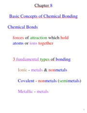 Chemistry for Engineers 1250ch8