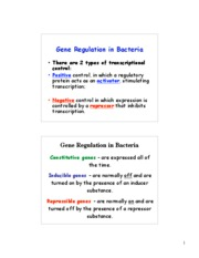 transcription Regulation-2008