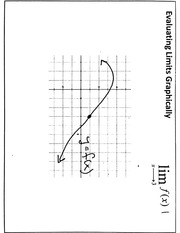 Graphically Evaluating Limits