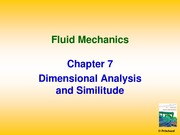 Chapter 7_lecture 1 dimensional analysis