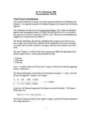 07-Poisson Distribution