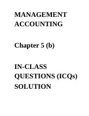 ICQ Solution Chapter 5(b) 3rd edition.docx