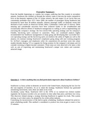 five force analysis of southwest airline essay Open document below is an essay on porter's five forces for sw airline from anti essays, your source for research papers, essays, and term paper examples.