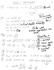 1104F (2013) Test 1 solutions