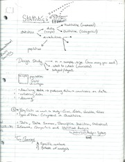 Introduction to Statistics Notes
