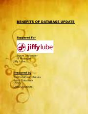BENEFITS OF DATABASE UPDATE (Autosaved).docx