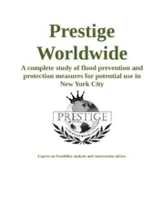Prestige Worldwide Cover Page