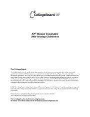 AP Human Geography Syllabus   Staff Portal Camas School District AP Human Geography   Cherokee County Schools