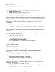 PSY 171 Exam 2 Study Guide