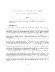 On Tangential, Normal, Linearly Infinite Algebras.pdf