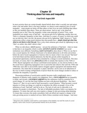 Chapter 10 -- inequality & fairness -- Norton August