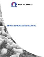 BROILER MANAGEMENT GUIDE-1 pdf - BROILER MANAGEMENT GUIDE