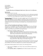 Dalai Lama Reading Assignment and Groups.pdf