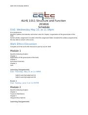 ADA Schedule ALHS 1011 Structure and Function. 201816.docx- new.docx
