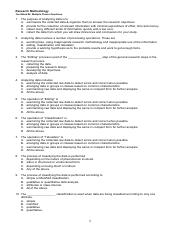 Research methodology mcq