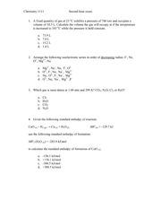 MEW Chem 1111 Test 2