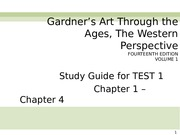 Study Guide for TEST 1 Chapters 1 through 4.ppt
