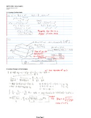 MATH 2930 Spring 2013 Assignment 2 Solutions