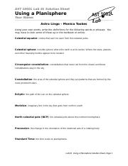 LAB 1 - Solution Sheet (Planispheres).docx