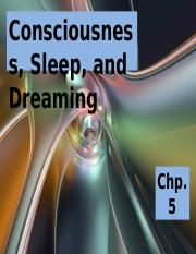 Consciousness, Sleep, & Dreaming.ppt