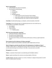 Ant. Exam 1 Study Guide
