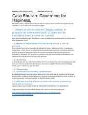 2 -Caso Bhutan Governing for happiness - Parte 1.docx