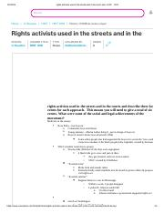 rights activists used in the streets and in the courts and - HIST - 1378.pdf