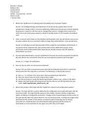 IS3440 Week 2 vLab1 Assessment Worksheet