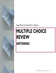 08 - Multiple Choice Review - Antennas