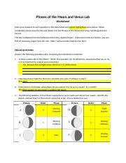 Phases of the Moon and Venus Lab.docx