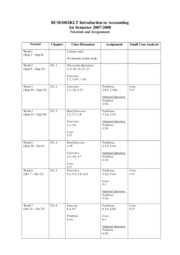 timetable & assignment