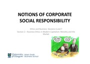 CSR and the Role of it Within Business Ethics Lecture