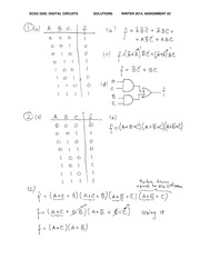 ECE 2200 Fall 2014 Assignment 3 Solutions