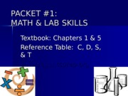 Packet_1_-_Math_and_Lab_Skills